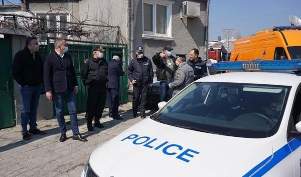 Портних: В ромската махала е спокойно, благодаря на полицията!